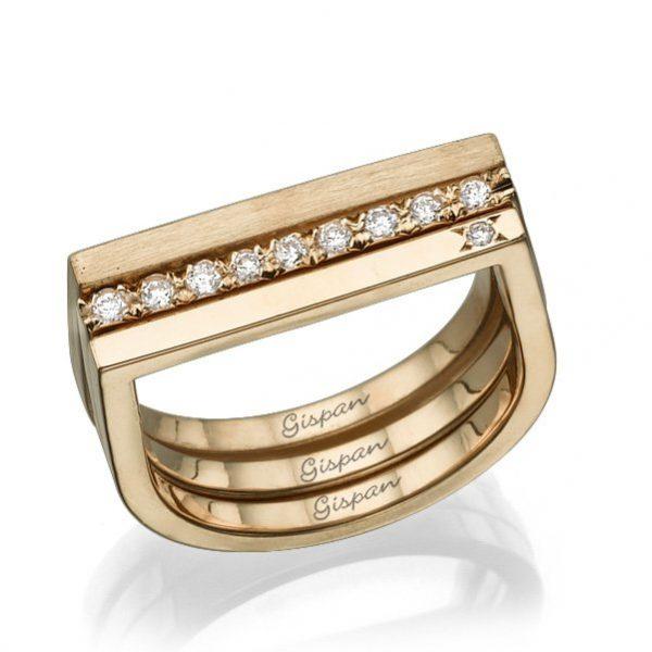 טבעת מלבנית RING 42