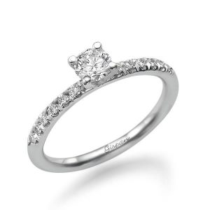 טבעת יהלום